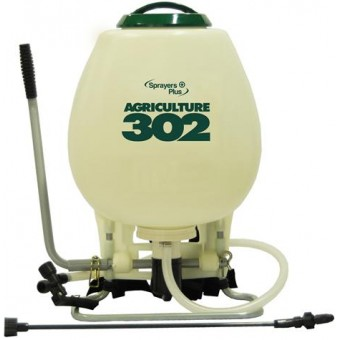 Sprayers Plus 302 - 4 Gallon Piston Agricultural Series Back Pack Sprayer
